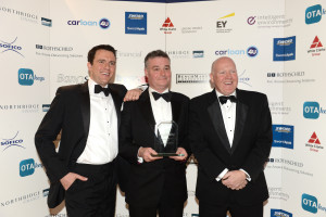 Andrew McIntosh (National Key Accounts Manager), James McGee (Managing Director) and Alan Carson (Sales Director)